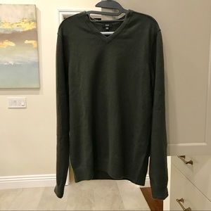 VINCE 100% Cashmere v-neck Sweater M medium